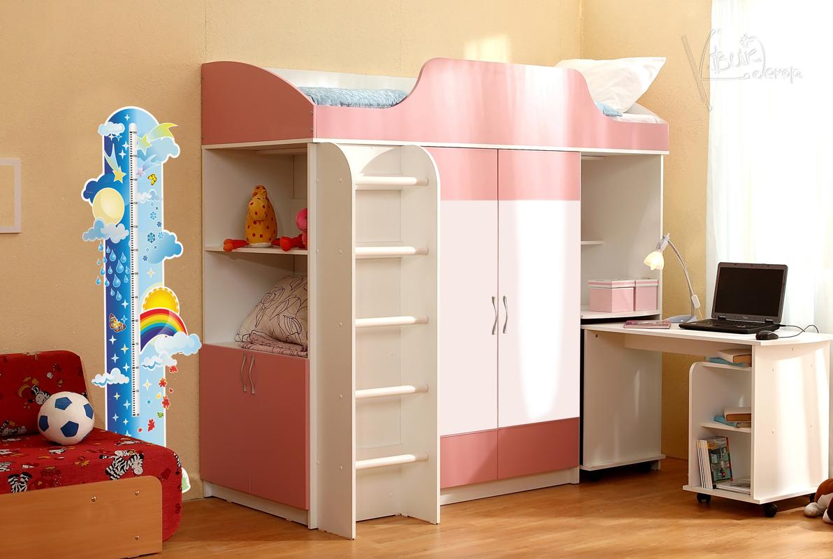 Детская мебель - стенки в комнату, в т.ч. маленькие..